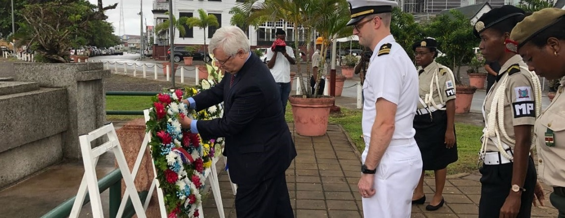Wreath Laying Ceremony Memorial of the Fallen