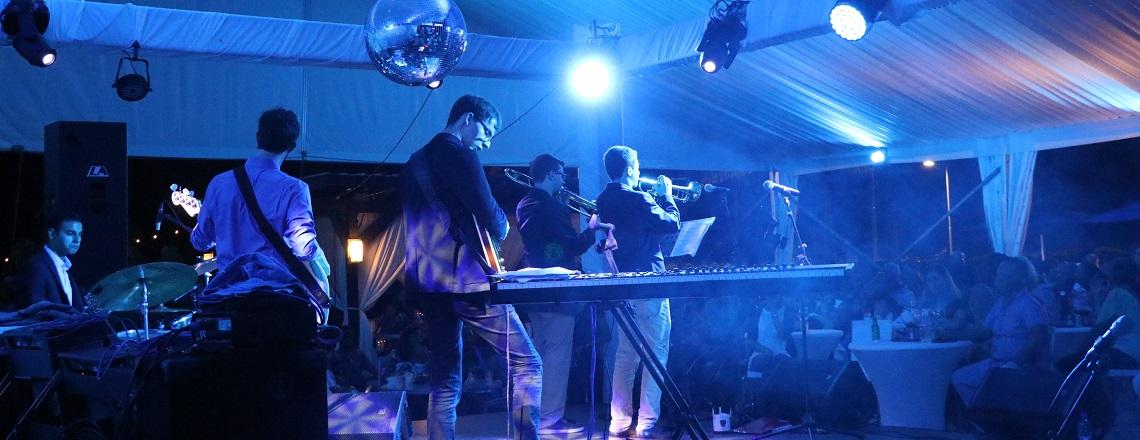 The Stamps Jazz Quintet perform at International Jazz Day in Paramaribo